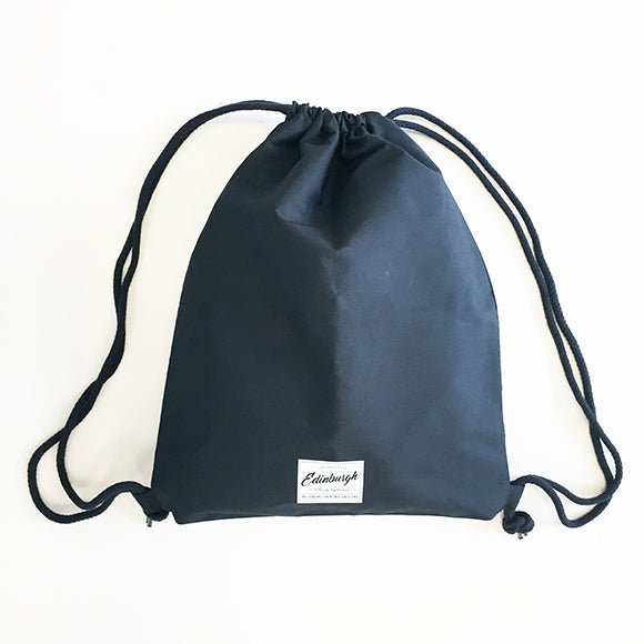 Premium Cotton Gym Bag in Dark Navy
