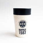 rCup Small 8oz in Black/White