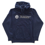 Basic University Logo Hoodie in Navy