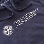 The University of Edinburgh and University logo are printed in bold white lettering across the chest.