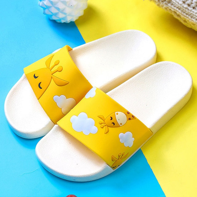 Yellow Giraffe Slipper