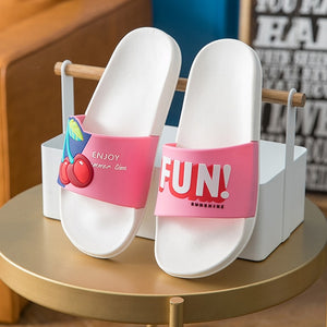 Cherry Fun Slipper
