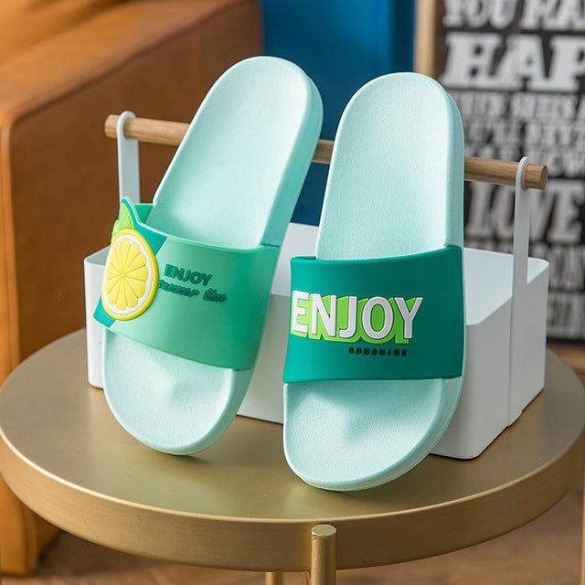 Green Lemon Slipper