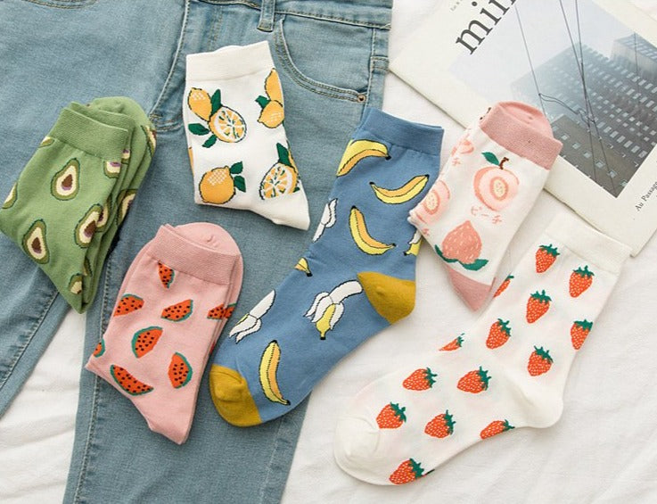 Fruit Socks