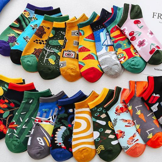 Colorful Summer Socks