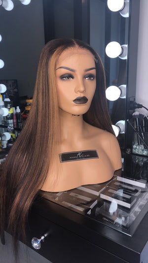HOT GIRL Closure Wig Unit | Straight