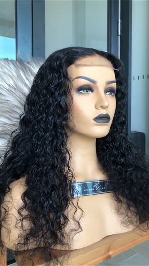 Miami Waterwave Closure Wig