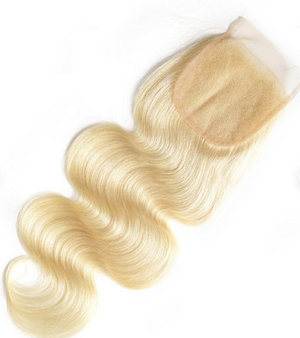 Blonde Bombshell Bodywave Closure