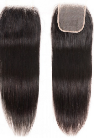 Virgin Peruvian Straight Closure