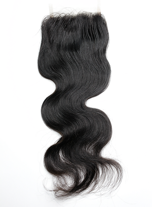 Virgin Peruvian Bodywave Closure