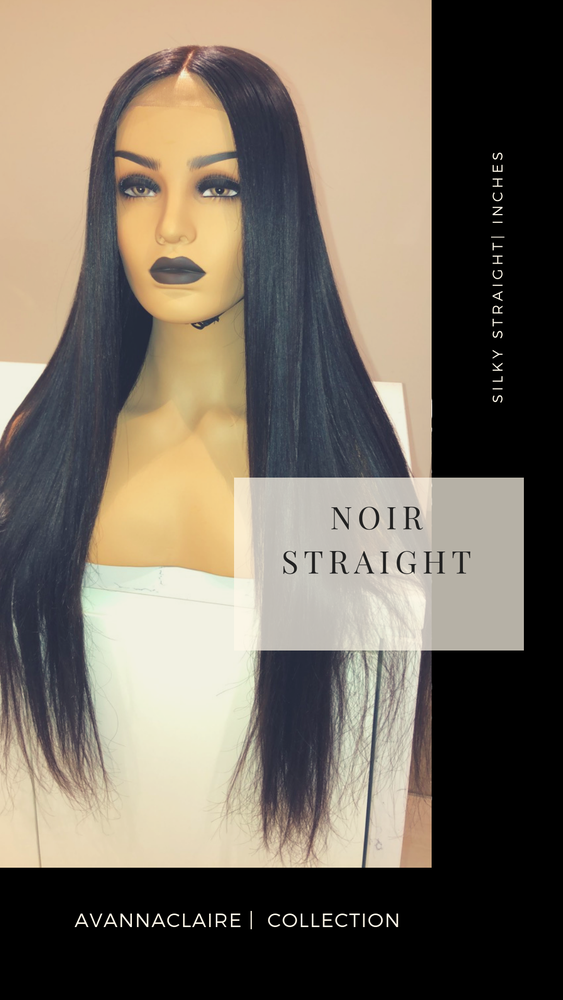 Noir Straight Unit | 360 Wig Unit