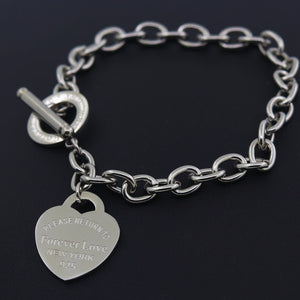 Hot Sale Buckle Design Bracelet New Style Brand Women Bracelet Gold Chain Heart Bangles Carter Bracelets Pulseira Fine Jewelry