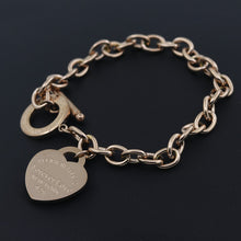 Carregar imagem no visualizador da galeria, Hot Sale Buckle Design Bracelet New Style Brand Women Bracelet Gold Chain Heart Bangles Carter Bracelets Pulseira Fine Jewelry