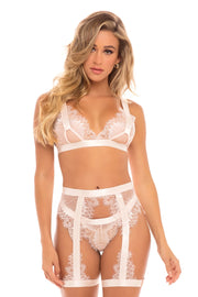 Janet Eyelash Lace 3 Piece Set