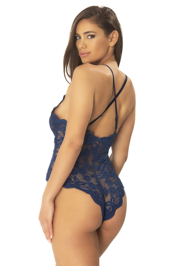 Cortney Floral Lace Bodysuit