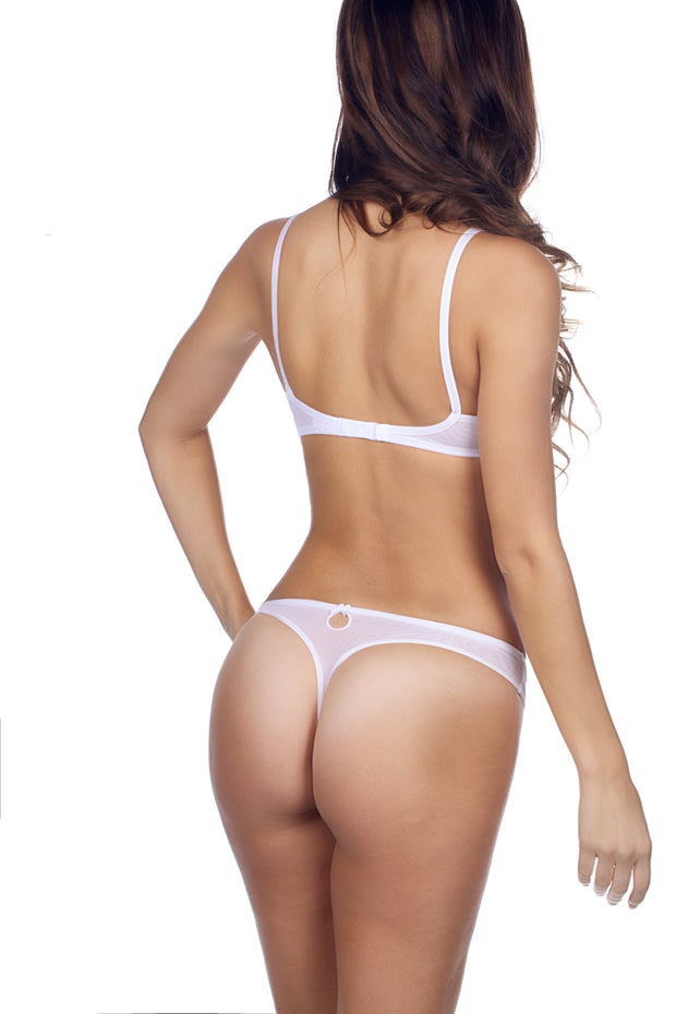 Natacha Mesh Thong - Essentials