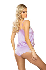 Lola Satin and Lace PJ Set