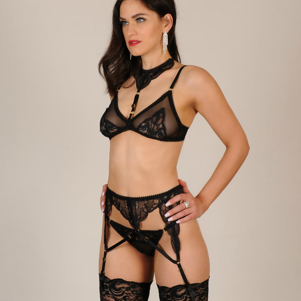 Doris Garter Belt by The Muse Lingerie