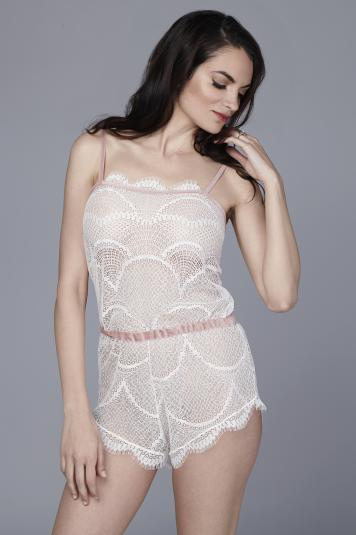 Jennifer Romper by The Giving Bride