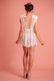 Eri Lace Babydoll and G-String by Tres Sur Lingerie