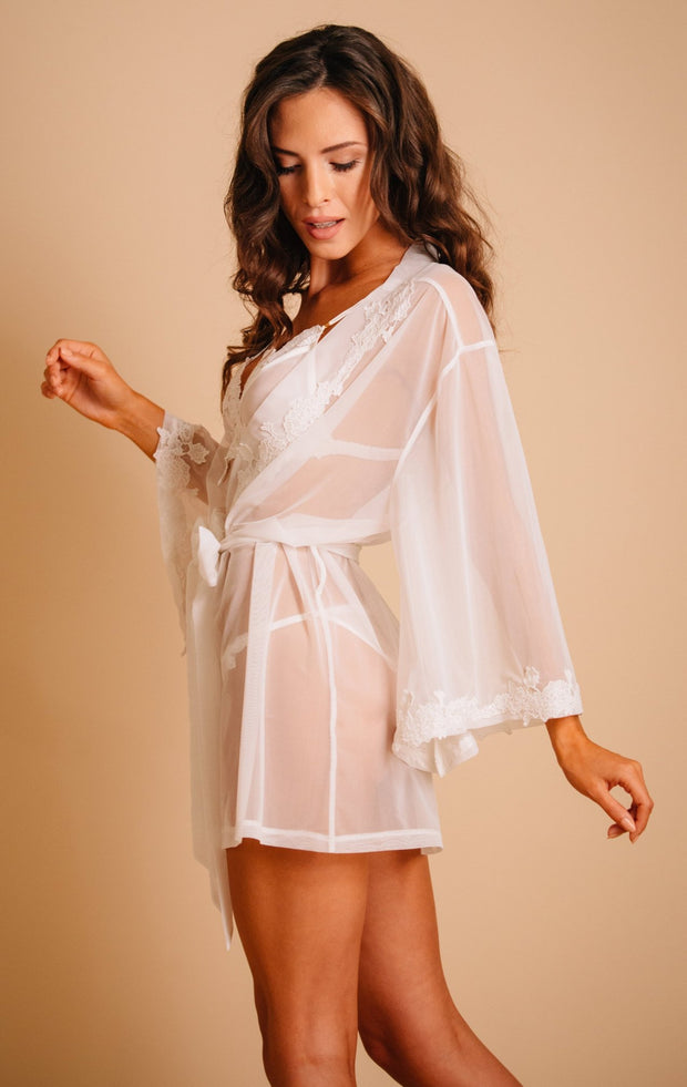 Rosie Tulle Robe by Tres Sur Lingerie