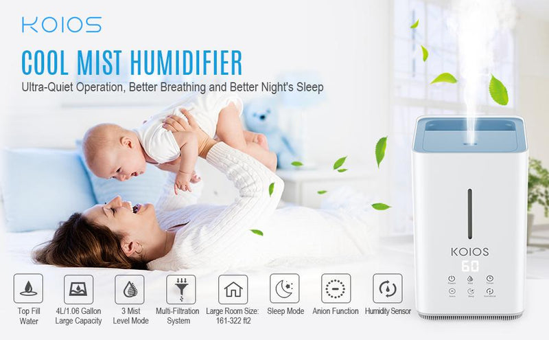 Stay Healthy and Breathe Easy with a Humidifier - ValueLink Shop