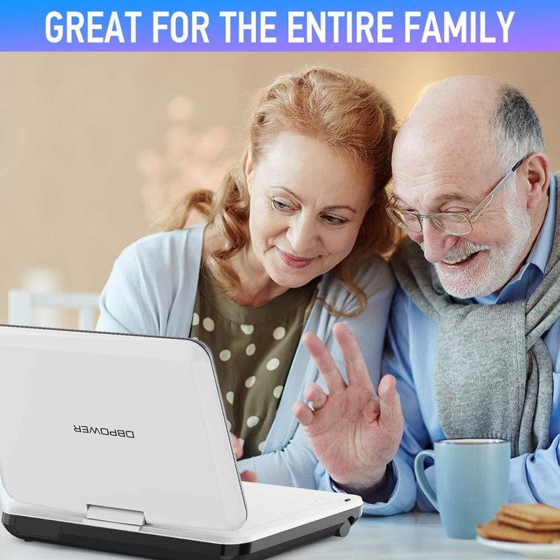 "DBPOWER 12"" Portable DVD Player - ValueLink Shop"
