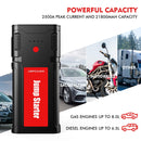 DBPOWER 2500A 21800mAh Portable Car Jump Starter (up to 8.0L Gas/6.5L Diesel Engines, 12V) - ValueLink Shop
