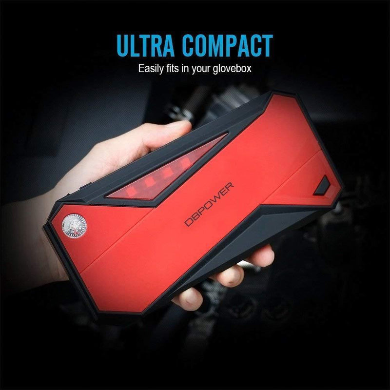 DBPOWER 800A Peak 18000mAh Portable Car Jump Starter (up to 7.2L Gas/5.5L Diesel Engine) - ValueLink Shop