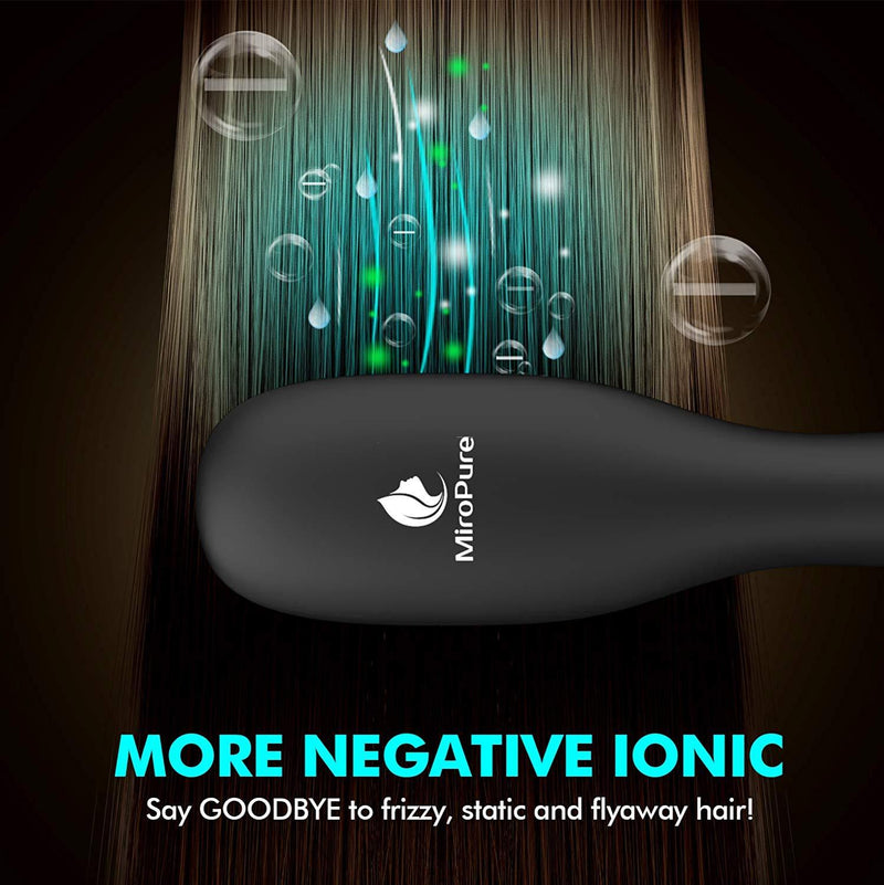 Hair Straightener Brush with Ionic Generator by MiroPure - ValueLink Shop