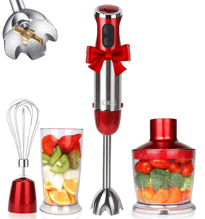 KOIOS smart Electric 4-in-1 Hand Immersion with 12-Speed Stick Blender