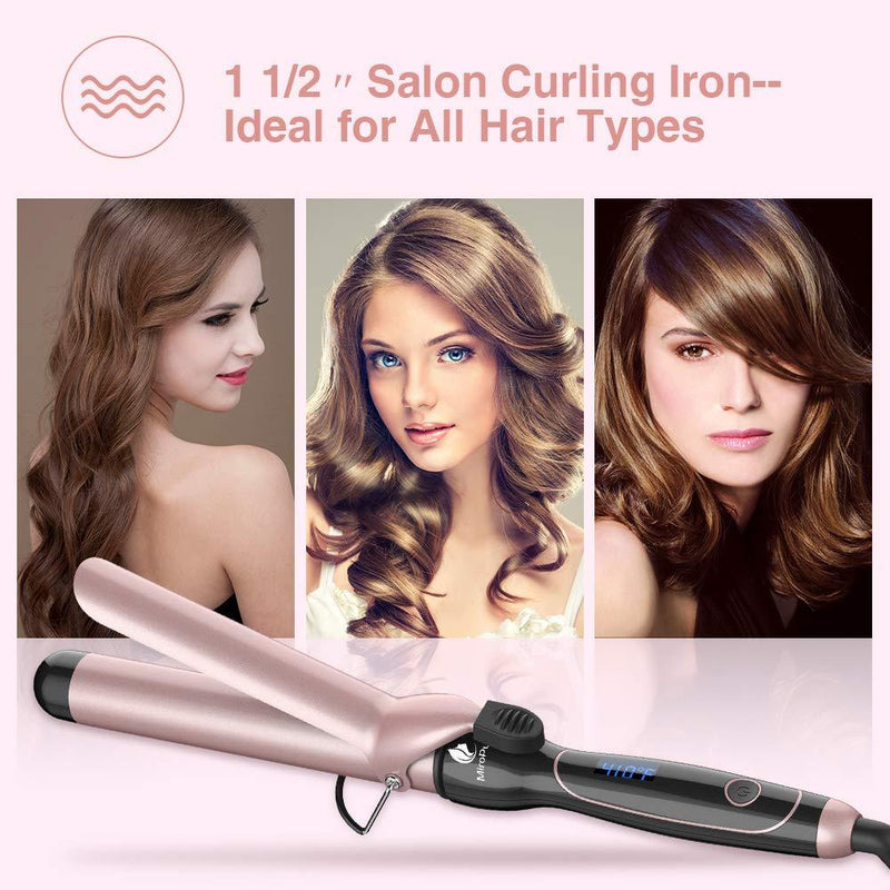 Miropure Curling Iron  1 1/2-inch