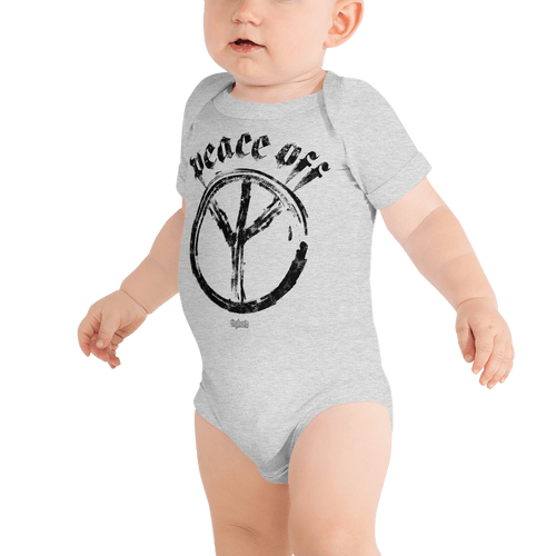 Peace Off | Baby Body Aighard Merchandise Webshop Anti Love Hippie