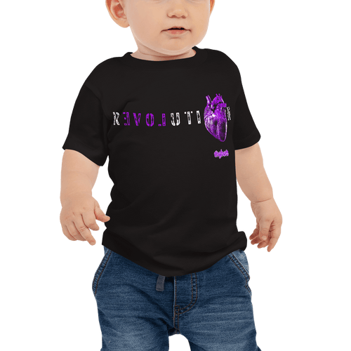 Revolution (Purple) | Baby T-shirt Aighard Merchandise Webshop Activist Anti Activism