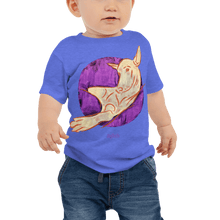 Load image into Gallery viewer, Baby T-shirt Baby T-shirt Aighard Heather Columbia Blue 6-12m 3 4352570 Baby T-shirt