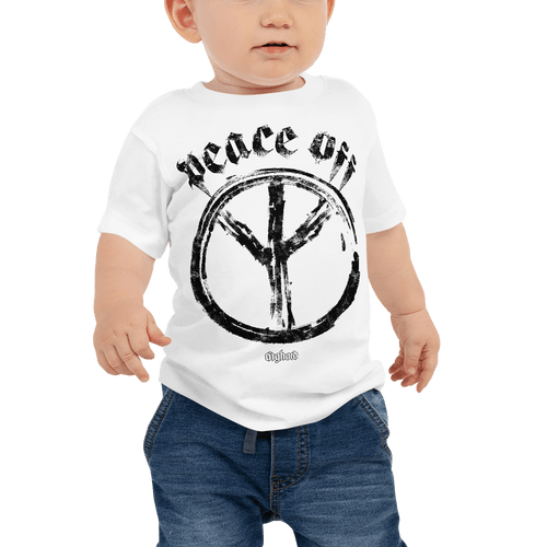 Peace Off | Baby T-shirt Aighard Merchandise Webshop Anti Love Hippie