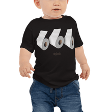 Load image into Gallery viewer, Baby T-shirt Baby T-shirt Aighard Black 6-12m 1 6542535_9407 Baby T-shirt