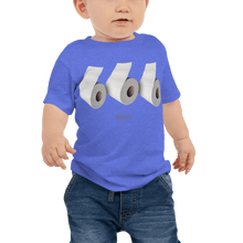 Load image into Gallery viewer, Baby T-shirt Baby T-shirt Aighard Heather Columbia Blue 6-12m 3 6542535_9415 Baby T-shirt