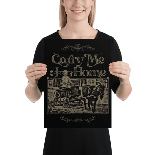 Carry Me Home | Poster Aighard Merchandise Webshop Carry Me Home DCLXVI 666