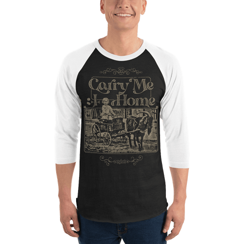 Carry Me Home | Unisex 3/4 Raglan Shirt Aighard Merchandise Webshop Carry Me Home DCLXVI 666