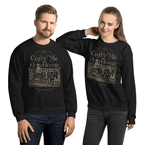Carry Me Home | Unisex Sweatshirt Aighard Merchandise Webshop Carry Me Home DCLXVI 666