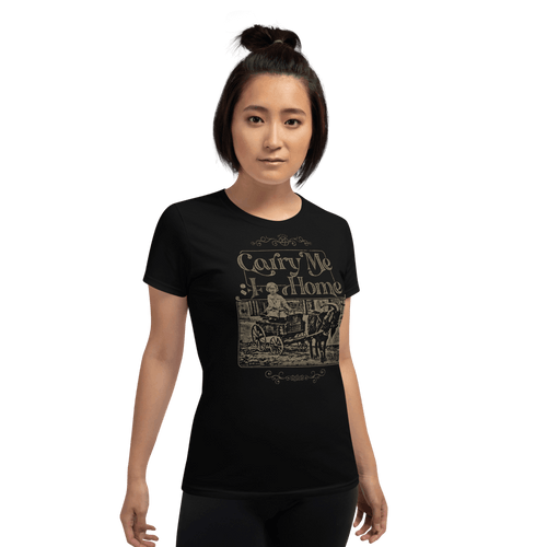 Carry Me Home | Woman T-shirt Aighard Merchandise Webshop Carry Me Home DCLXVI 666