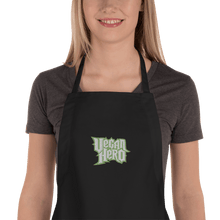 Load image into Gallery viewer, Embroidered Apron Embroidered Apron Aighard Black 2 4688935 Embroidered Apron