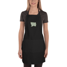Load image into Gallery viewer, Embroidered Apron Embroidered Apron Aighard Black 1 4688935 Embroidered Apron