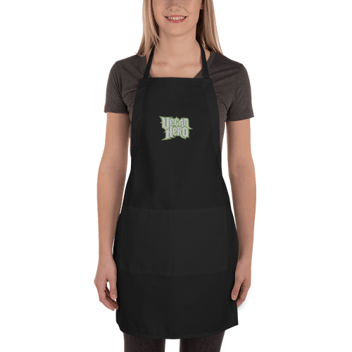 Embroidered Apron Embroidered Apron Aighard Black 1 4688935 Embroidered Apron