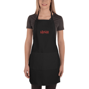 Embroidered Apron Embroidered Apron Aighard Black 1 2816967 Embroidered Apron