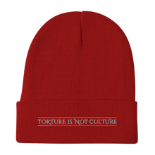 Load image into Gallery viewer, Embroidered Beanie Embroidered Beanie Aighard Red 4 3446515_4521 Embroidered Beanie