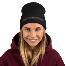 Load image into Gallery viewer, Embroidered Beanie Embroidered Beanie Aighard Black 3 3446515_4522 Embroidered Beanie
