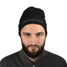 Load image into Gallery viewer, Embroidered Beanie Embroidered Beanie Aighard Black 2 3446515_4522 Embroidered Beanie