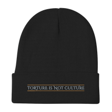 Load image into Gallery viewer, Embroidered Beanie Embroidered Beanie Aighard Black 1 3446515_4522 Embroidered Beanie